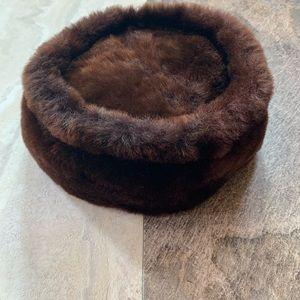 Vintage 1930's bumper fur hat
